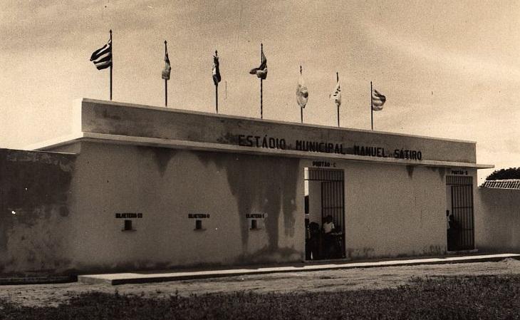 Antigo estádio da Vila Manoel Sátiro teve Clássico-Rei na inauguração (Foto: Acervo José Renato Sátiro Santiago Junior)