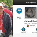 Até a publicação desta matéria, Michael viu jogos em 162 países (Foto: Acervo pessoal)