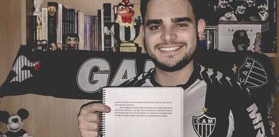 Torcedor do Atlético-MG faz citação irônica sobre o time em dissertação de mestrado