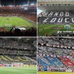 Flamengo, Corinthians, Atlético-MG e Bahia: campeões de público na história (Foto: Reprodução)