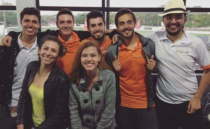 A equipe do site Do Rico ao Pobre se especializou no futebol amador (Foto: Reprodução)