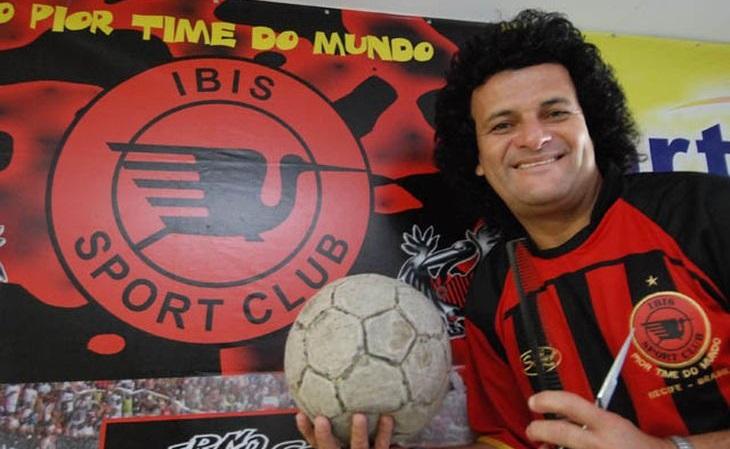 """O Íbis, do ídolo Mauro Shampoo, apoia-se na história """"derrotista"""" para somar fãs (Foto: Reprodução)"""