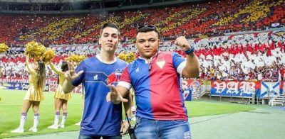 Este é o torcedor do Fortaleza que faz os mosaicos mais legais do futebol brasileiro