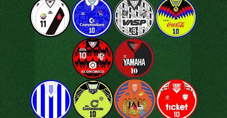 Você sabe tudo sobre camisas de clubes de futebol? Mostre no nosso quiz
