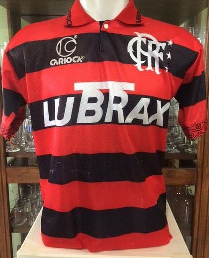 573fbfc958 Muitas camisas da Carioca viraram clássicos do futebol brasileiro (Foto   Reprodução)