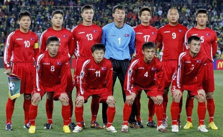 A seleção da Coreia do Norte disputou as Copas de 1966 e 2010 (Foto: Fifa/Divulgação)