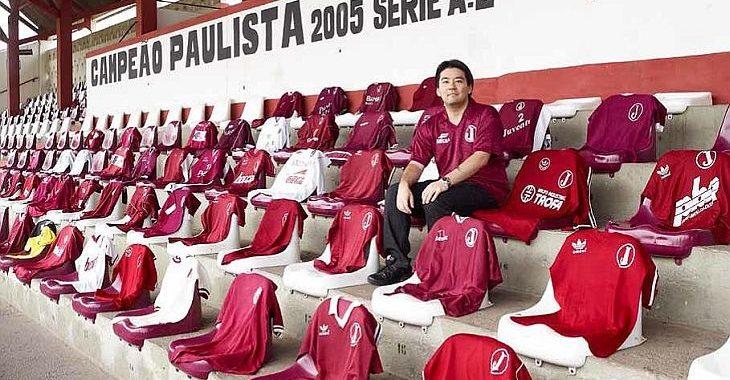 Colecionador tem quase todas as camisas do Juventus da Mooca a partir de  1971 869c9302b349c