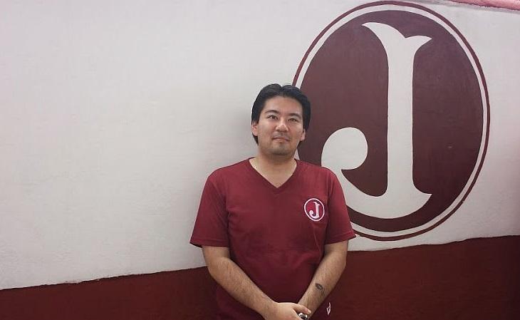Hamilton Kuniochi comanda o blog Manto Juventino, sobre o clube (Foto: Reprodução)