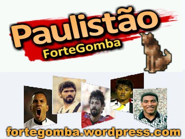 Jogadores da capa do game: Amoroso (São Paulo - 2005); Kita (Inter de Limeira - 1986); Cristian (Ituano - 2014); Márcio Mossoró (Paulista - 2005); e Mauro Silva (Bragantino - 1990/91) (Foto: Reprodução)