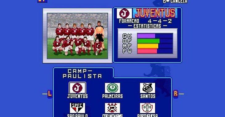 Programadores lançam versão do Superstar Soccer com Paulistão de times históricos