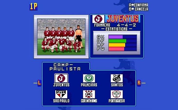 42 elencos foram resgatados pelo patch do Superstar Soccer (Foto: Reprodução)
