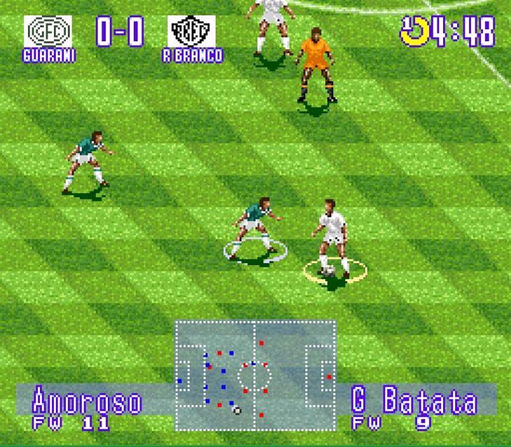 É possível jogar com grandes equipes da história do futebol paulista (Foto: Reprodução)