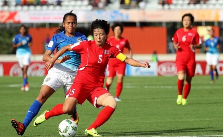 A seleção feminina da Coreia do Norte hoje tem boa referência (Foto: Fifa/Divulgação)
