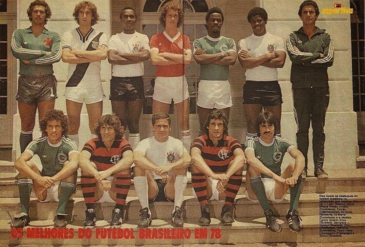 Os melhores jogadores do Campeonato Brasileiro de 1978 (Foto: Acervo pessoal)