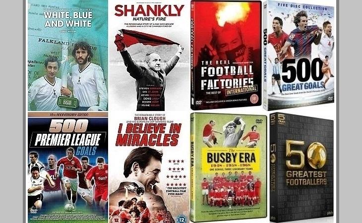 Os preços de alguns DVDs de futebol são bastante convidativos (Foto: Reprodução)