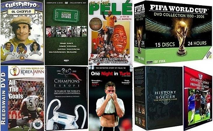 13 DVDs de futebol bem legais à venda no site da Amazon