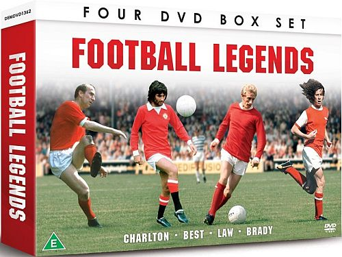 Football Legends - Best, Brady, Charlton And Law
