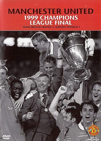 Manchester United 1999 Champions League Final DVD