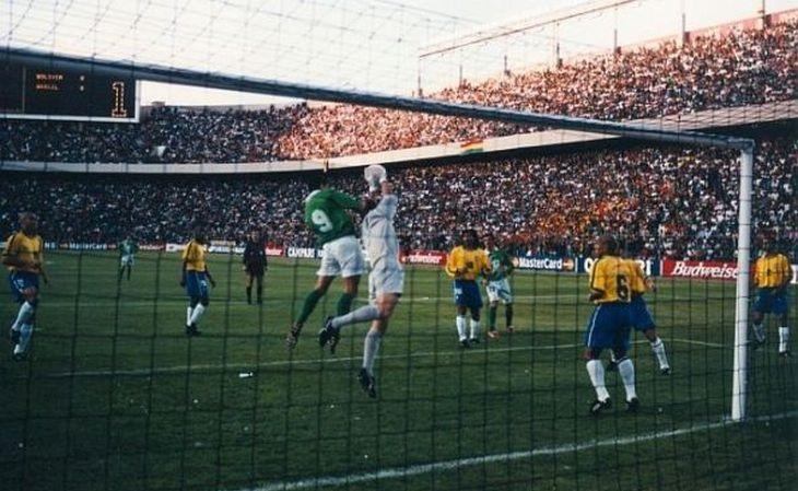 Nas vezes em que sediou a Copa América, a Bolívia foi à final, como em 1997 (Foto: Divulgação)