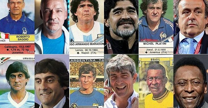 E se o FaceApp existisse em Copas do Mundo passadas: ele adivinharia o futuro de jogadores?
