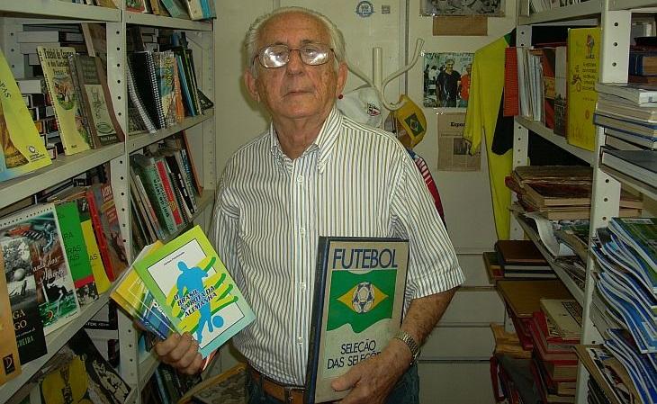 Airton Fontenele foi um dos primeiros entrevistados do Verminosos (Foto: Rafael Luis Azevedo/Verminosos por Futebol)