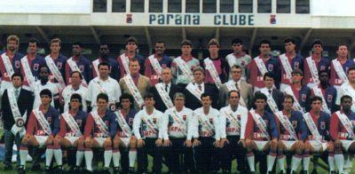 Confira o histórico de fusões que originaram o Paraná Clube