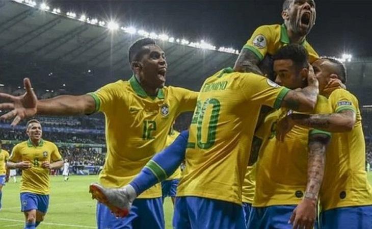 Ranking de apostas antes da Copa América já indicavam o favoritismo do Brasil (FOTO: Reprodução)
