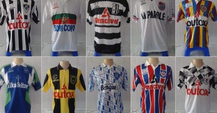 Carioca inicia venda de camisas retrô inspiradas em modelos clássicos dos anos 90