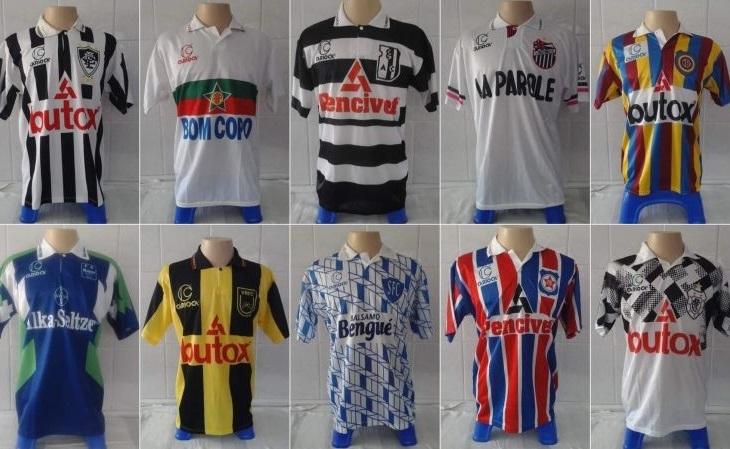 Cada camisa retrô da Carioca será vendida por R$ 50 (Arte: Verminosos por Futebol)