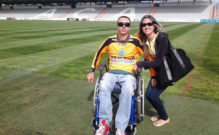 Claudio Bazoli percebeu que a cadeira de rodas não é limitação (Foto: Acervo pessoal)