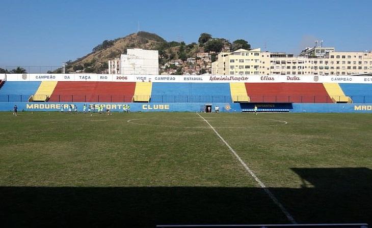 O estádio de Conselheiro Galvão foi aberto em 1941 (Foto: Jorginho O Lendário/Verminosos por Futebol)