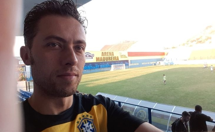 Jorginho fez o passeio ao Madureira a pedido do Verminosos (Foto: Jorginho O Lendário/Verminosos por Futebol)
