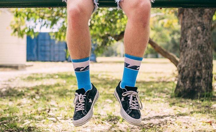 Qualquer par de meias custa 12,69 dólares - R$ 68, na cotação de abril (Foto: Divulgação)