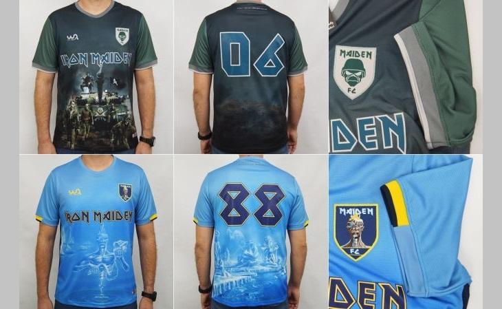 As 16 camisas da coleção farão referências aos 16 álbuns do Iron Maiden (Foto: Divulgação)