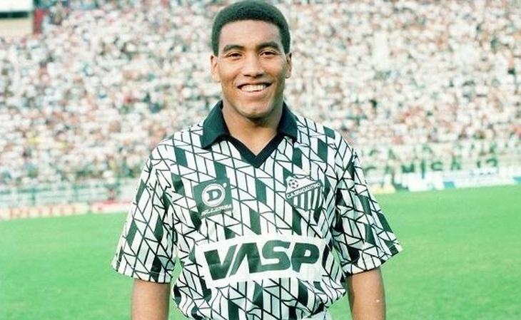 Camisa do Bragantino de 1991 foi uma das mais estilosas da história do Brasil (Foto: Reprodução)