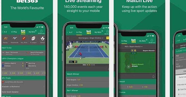 Agora é possível apostar no Bet365 através de aplicativo de celular