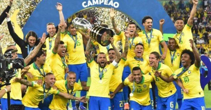 Brasil é apontado como favorito ao título em 2022. Bem, pelo menos por apostadores