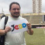 Fernando viu o jogo de nº 3.000 na vida em 2019: São Bernardo x Linense (Foto: Acervo pessoal)