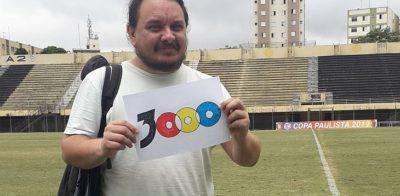 Ele já viu 3 mil partidas em 200 estádios: as histórias do criador do Jogos Perdidos