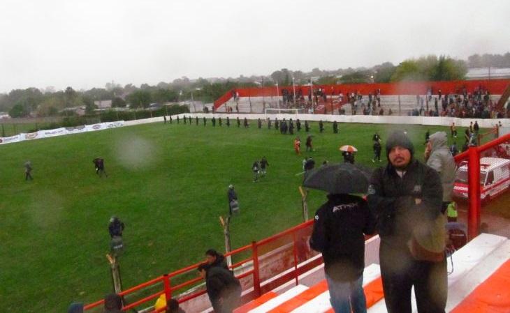 """O jogo mais """"perdido"""" que já viu na vida, pela 5ª divisão argentina (Foto: Acervo pessoal)"""