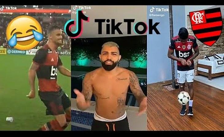 Flamengo tem mais seguidores no TikTok do que os 12 clubes brasileiros seguintes somados