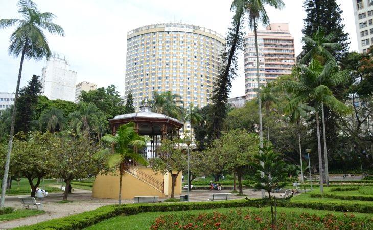 Parque Municipal: Sede do 1º time, o extinto Sport Club, e onde surgiu o Atlético (Foto: Wikipedia)