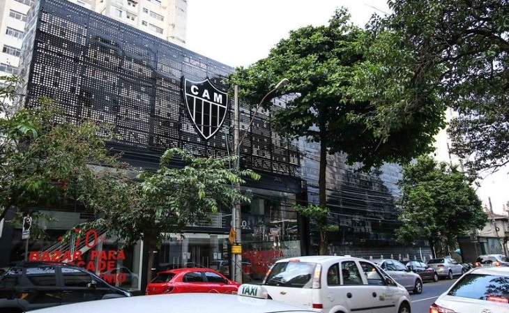 Sede do Atlético-MG fica no bairro de Lourdes, na região central (Foto: Bruno Cantini/Atlético)