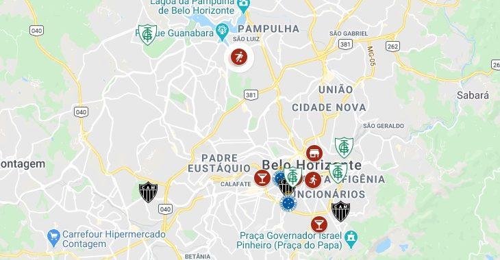 Quer fazer um tour de futebol em Belo Horizonte? Saiba TUDO o que tem na cidade