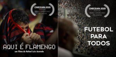 """Veja os curtas """"Aqui é Flamengo"""" e """"Futebol para Todos"""" no Cine Ceará 2020"""