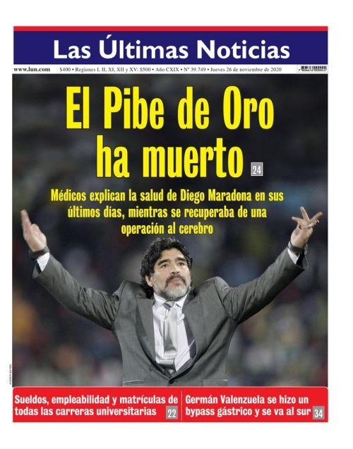 Chile - Las Ultimas Noticias