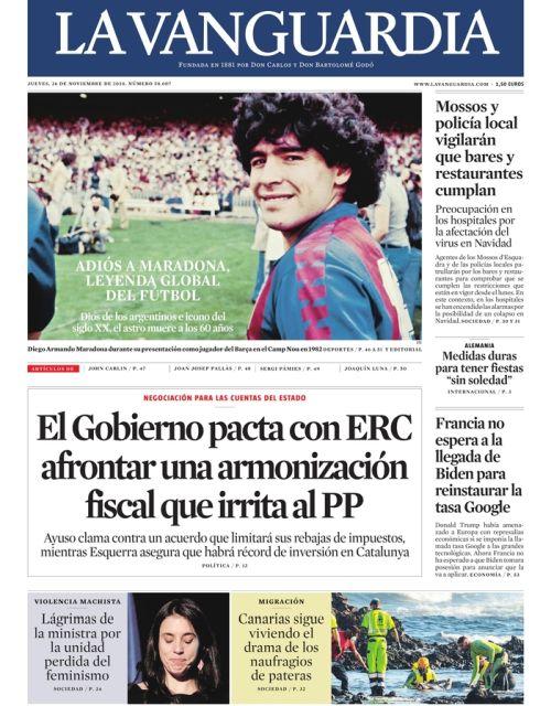 Espanha - La Vanguardia