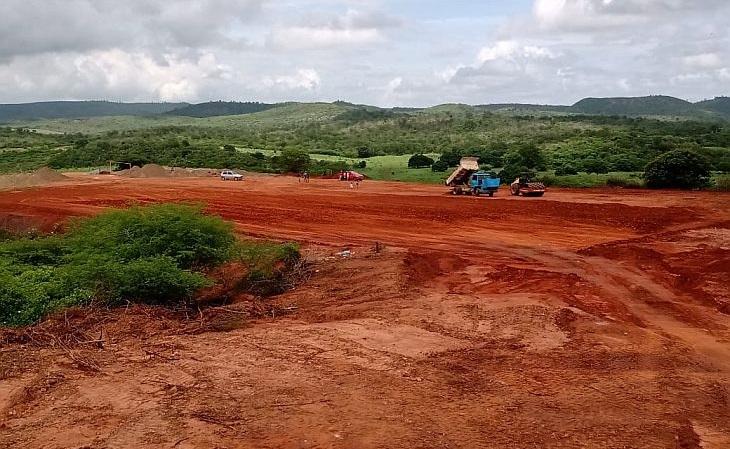 A Areninha de Flamengo, construída no lugar do Campo do Barro Vermelho, custará R$ 1,3 milhão (Foto: Mozer dos Santos)