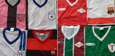 Colecionador comercializa camisas retrô de clubes campeões fluminenses