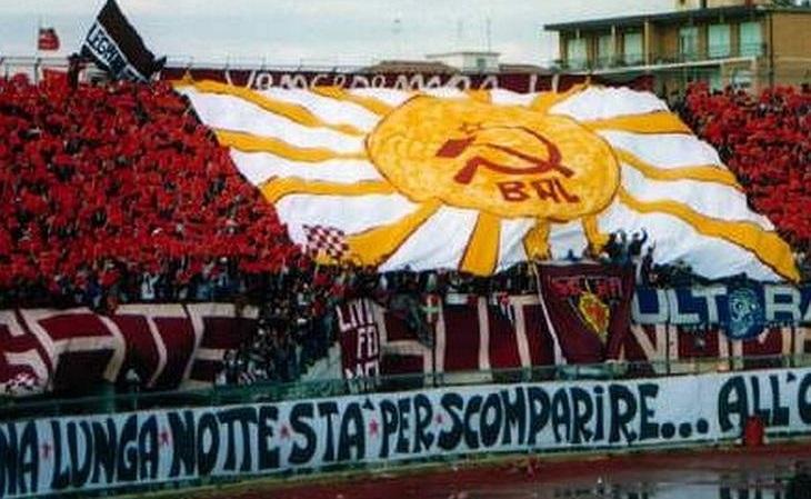 O Livorno representa o lado vermelho da Itália(Livorno/Divulgação)